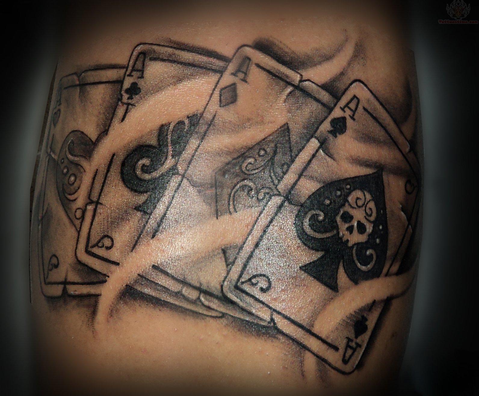 Blue Diamond Tattoo Meaning Cards tattoo designs 10