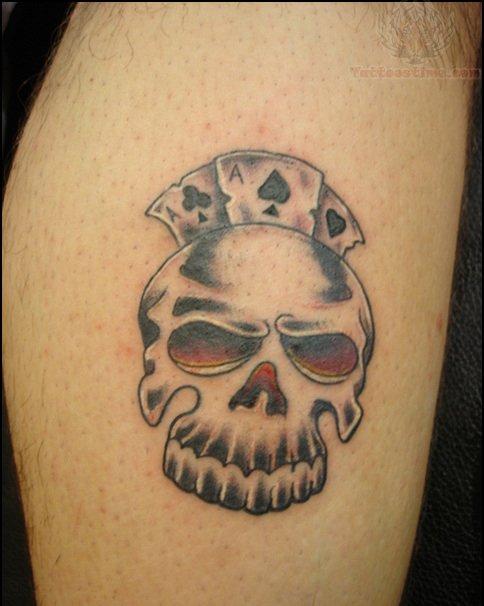 Poker tattoo shop