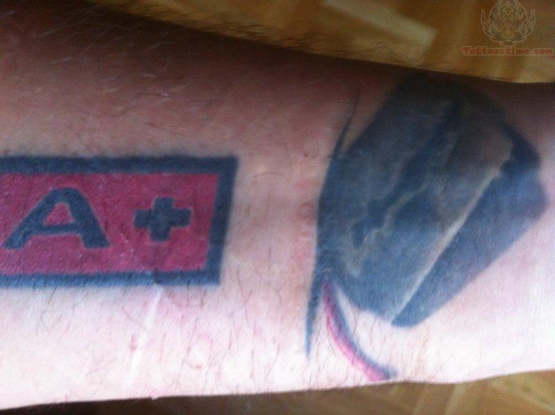 Tetovaza Razor Blade Tattoo