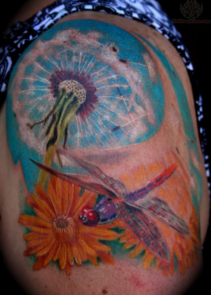 Dandelion tattoo rate my ink