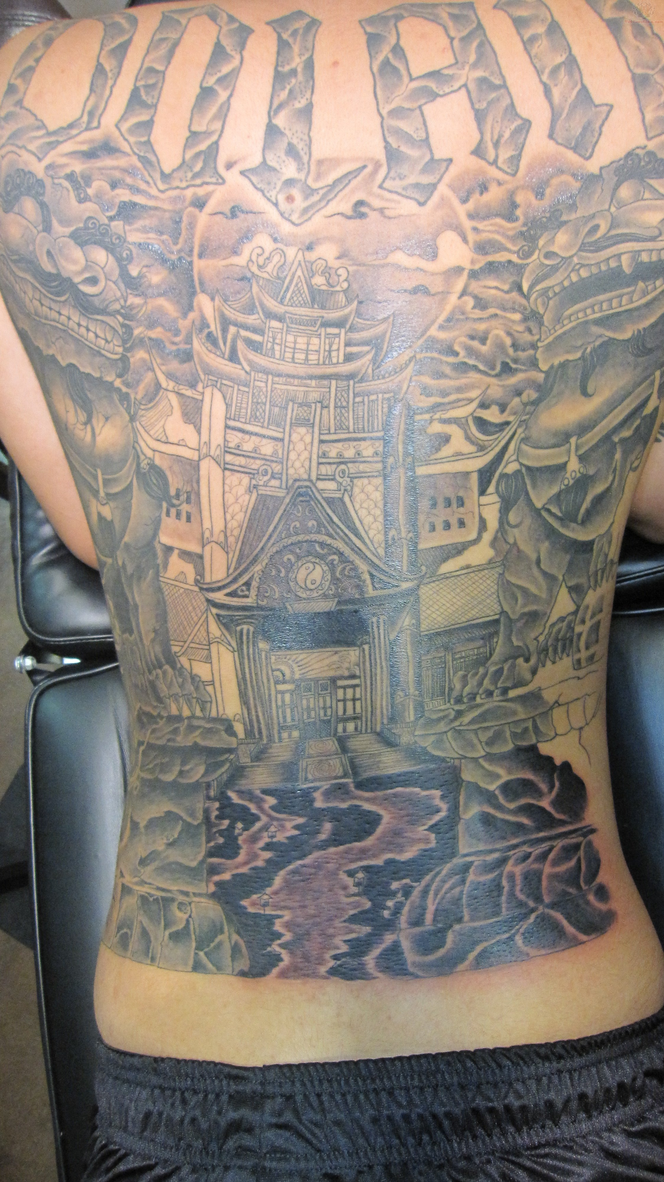 oriental temple tattoo designs to download oriental temple tattoo ...