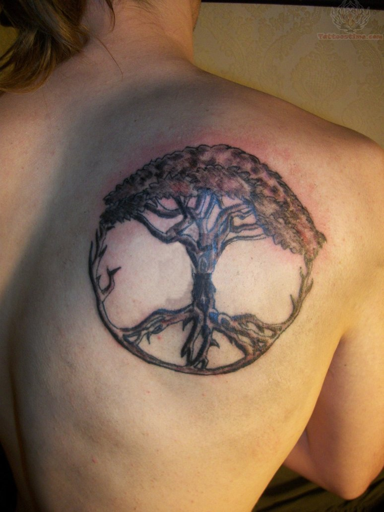 Tree Of Life Peace Tattoo