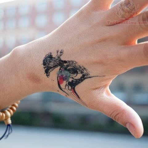 Side Hand Tattoo