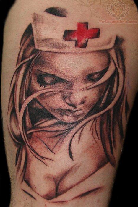 nurse tattoo images designs