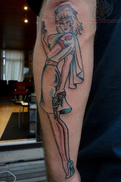 Nurse Tattoo Images  U0026 Designs