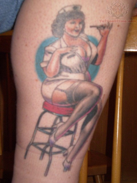 Nurse Tattoo Images &amp Designs