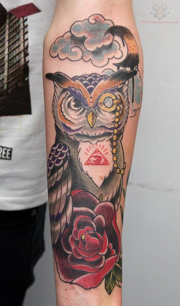 Owl Tattoo Sleeve