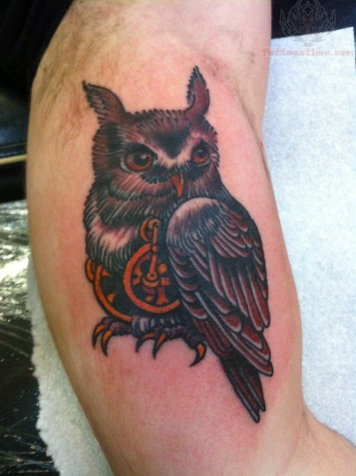 Owl tattoo images designs for Red bumps on my tattoo