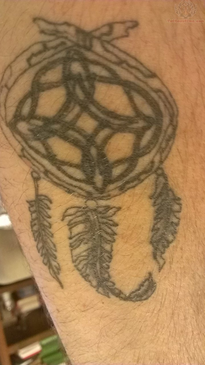 Celtic Knot Dream Catcher Tattoo