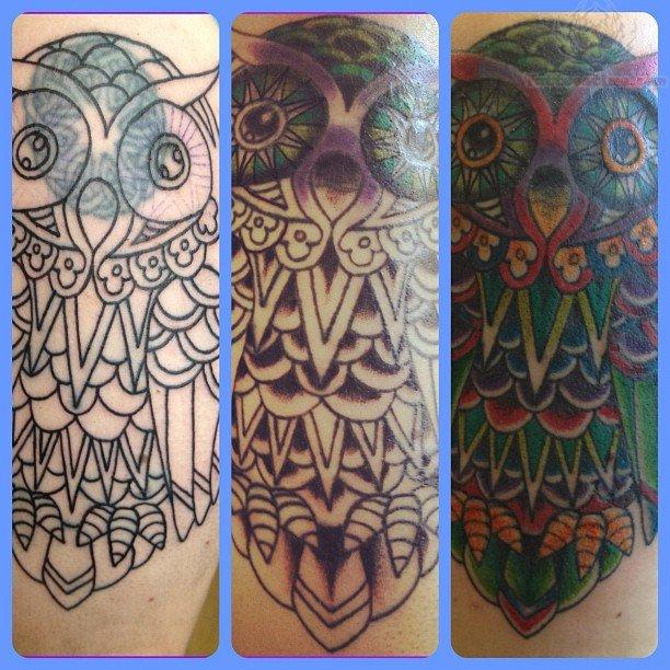 Celtic Owl Tattoo