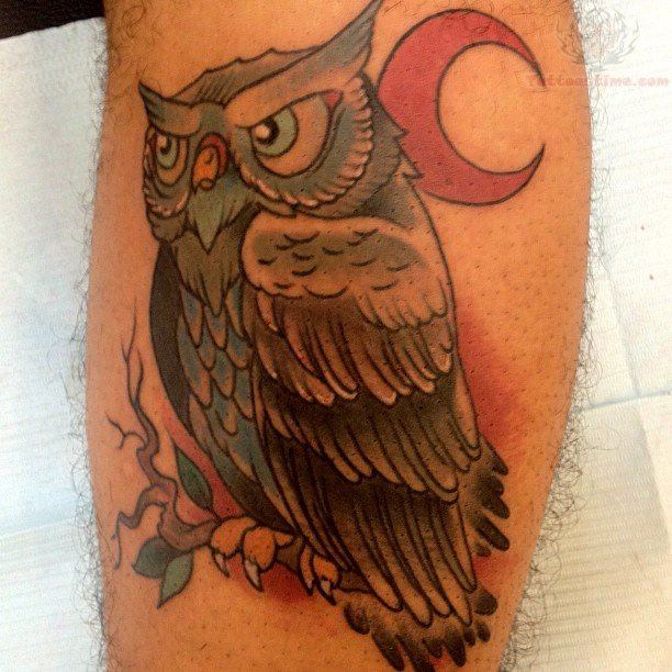 red moon tattoo - photo #43