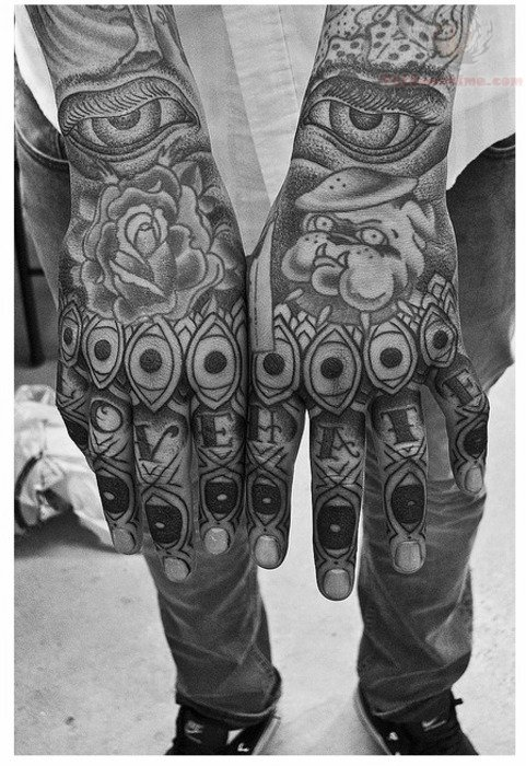 Aztec Band Tattoos Finger Tattoos Designs...