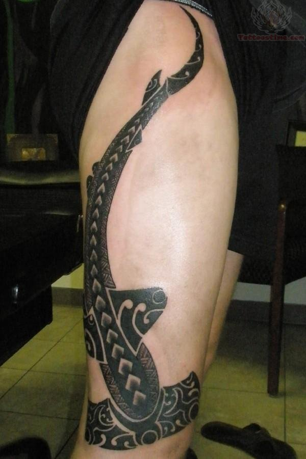 Hammerhead Shark Tattoo