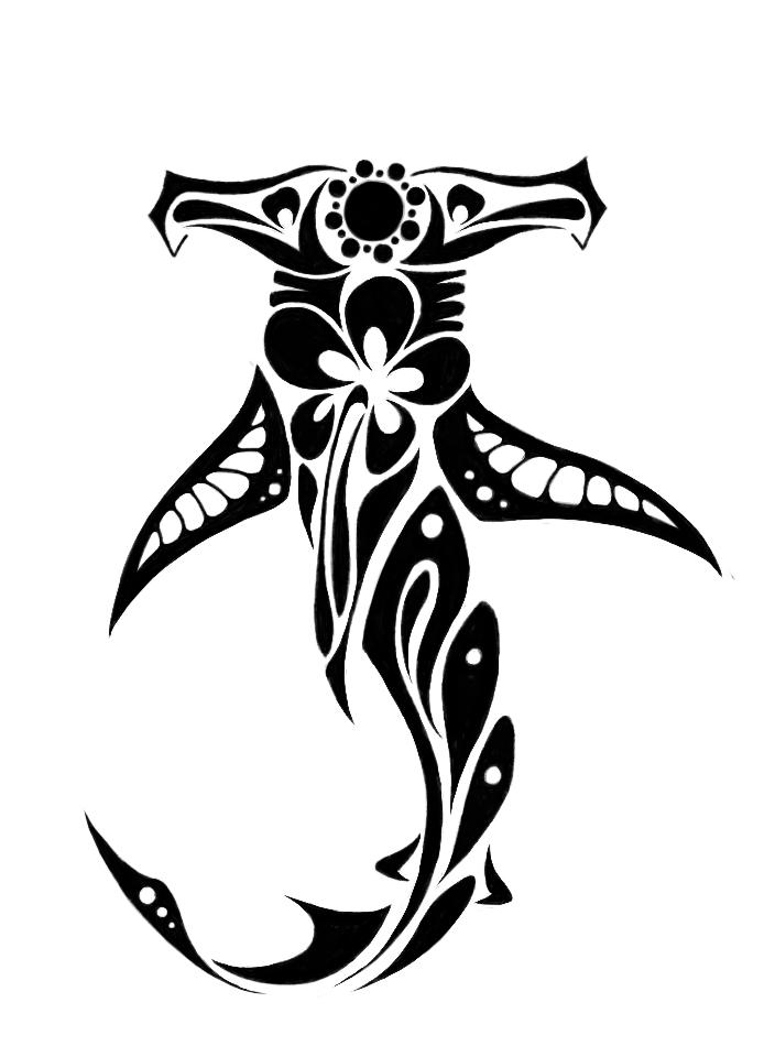 Hammerhead shark tattoo designs - photo#12