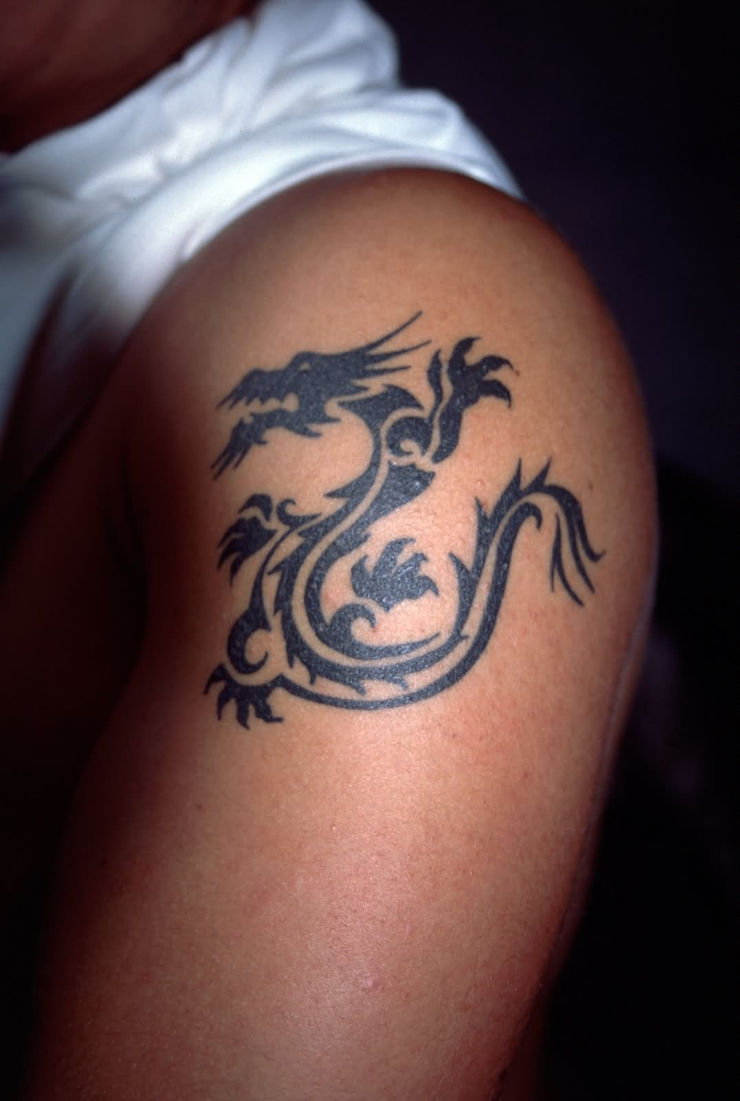 Dragon Tattoo For Shoulder