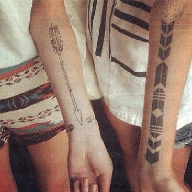 Arrow tattoos designs amp ideas page 26