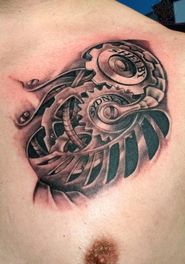 男生胸口纹身图案_男生霸气纹身头像_男生手臂小纹身图片 (600x855)