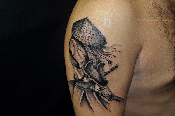 Samurai tattoo images designs for Female samurai tattoo