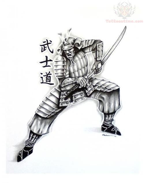 Japanese Warrior Sleeve Tattoo Designs Samurai Japanese Tattoo Design