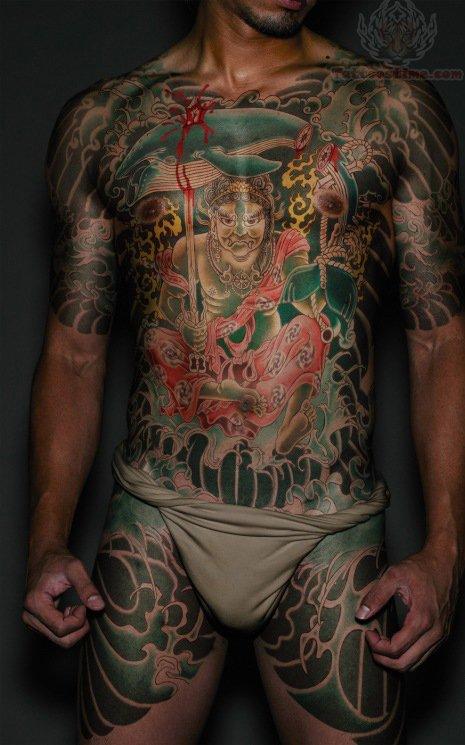 Right! japanese warrior tattoo seems
