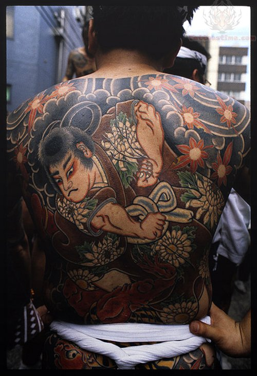 Full Back Tattoo Men