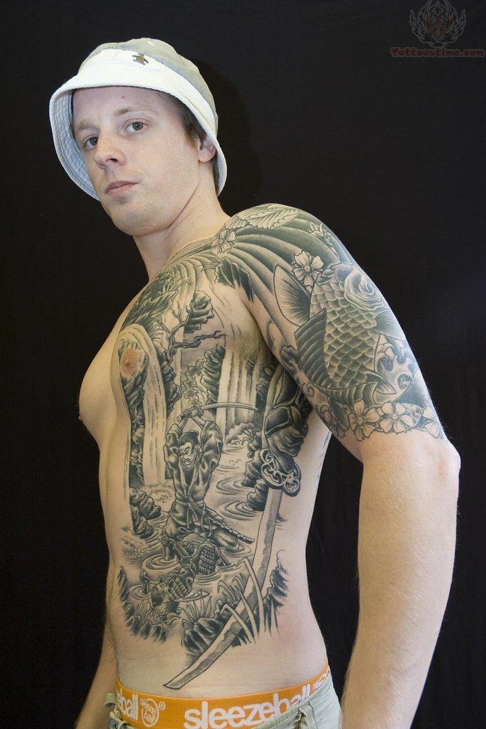 Koi Tattoo Side