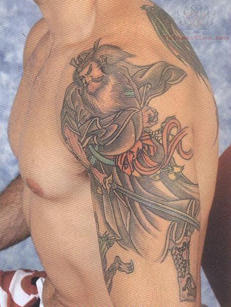Tiger Warrior Tattoo Samurai Warrior Side Tattoo