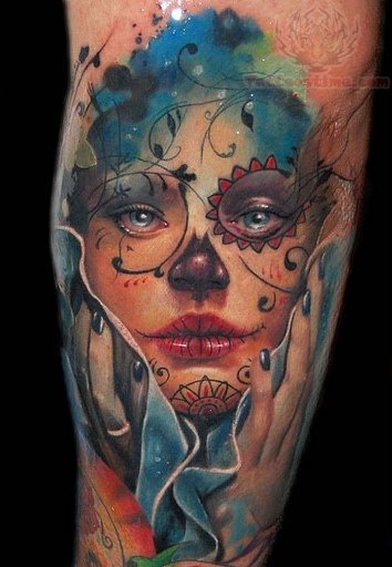 View more sugar skull tattoos