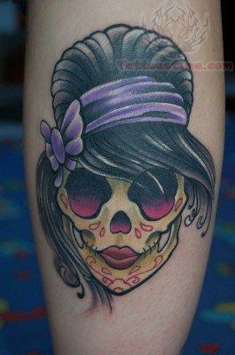 skull Cute tattoos sugar