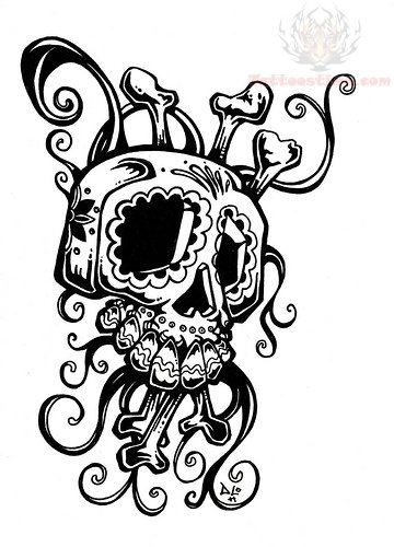 Ghoul1 also Phantom 10495 in addition Pineapple Stencil as well Dragon Coloring Pages likewise . on scary cartoon seahorse