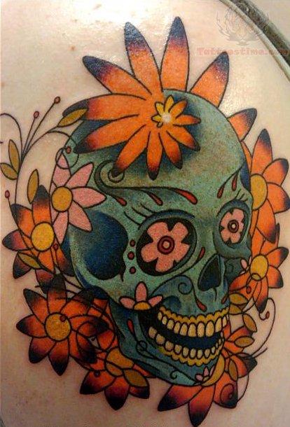 View More: Sugar Skull Tattoos