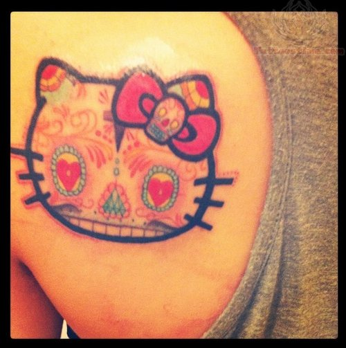 Sugar Skull Tattoo Images & Designs