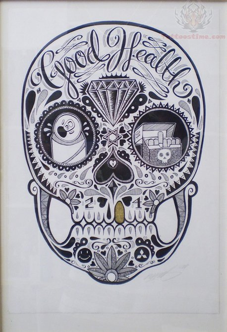 Sugar Skull Tattoo Ima...