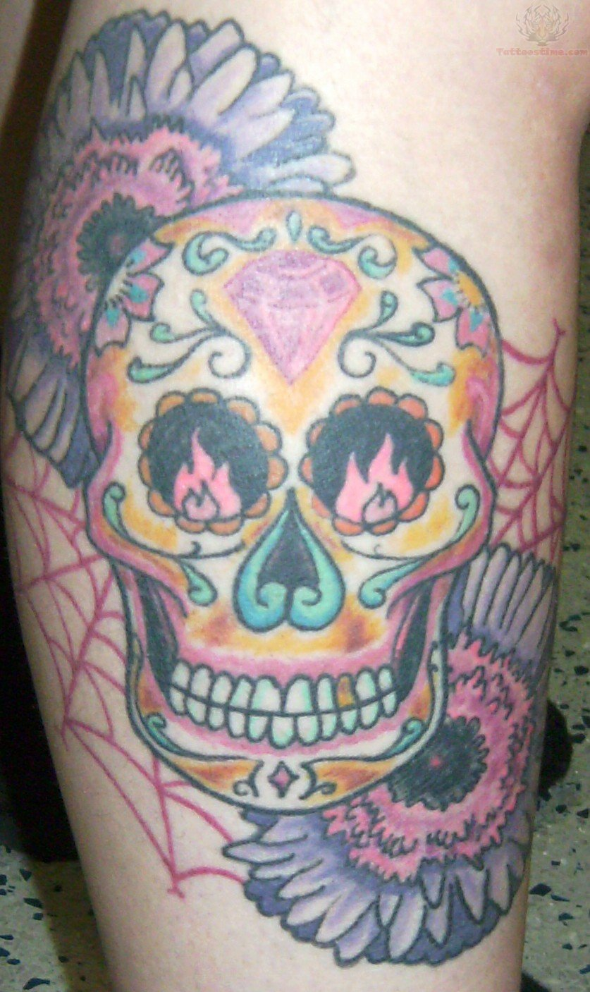 Flame Skull Tattoo  Viewing Gallery