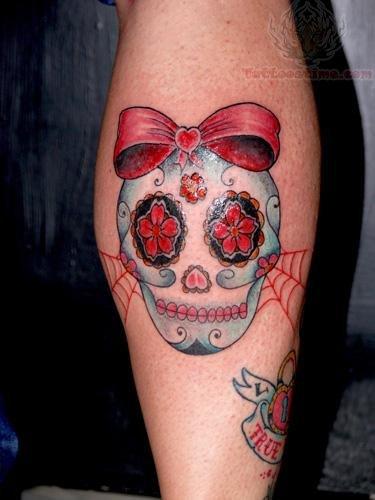 sugar skull tattoo images designs. Black Bedroom Furniture Sets. Home Design Ideas