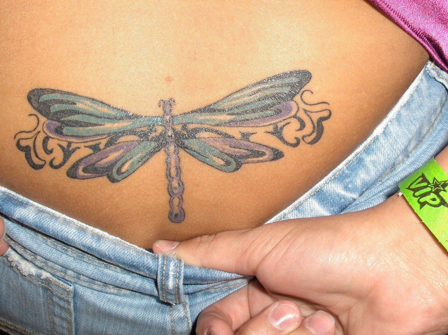 Фото татуировок на женском интимном месте
