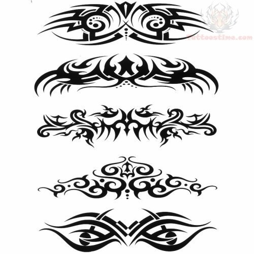 tribal tattoos design for lowerback. Black Bedroom Furniture Sets. Home Design Ideas