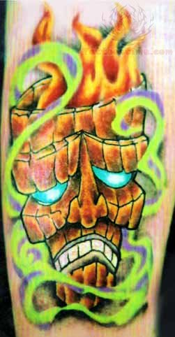 Tiki Head Tattoo Meaning