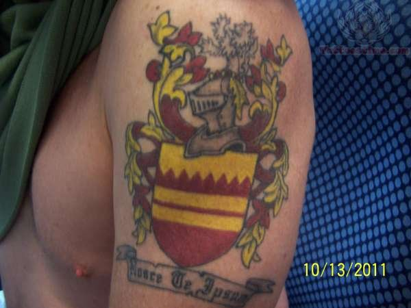 Family Coat Of Arms - Family Crest Tattoo