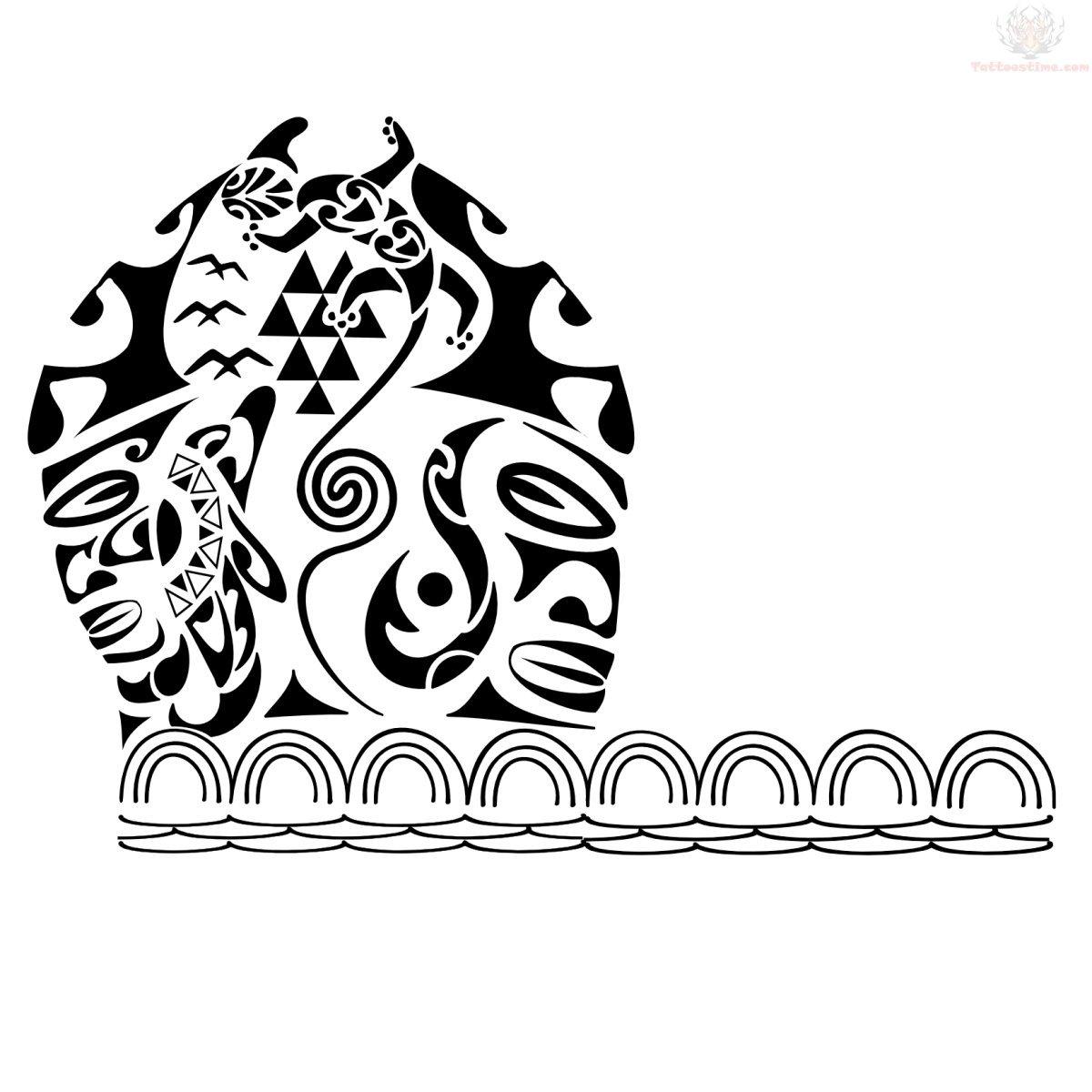 hawaiian tiki armband tattoo design. Black Bedroom Furniture Sets. Home Design Ideas