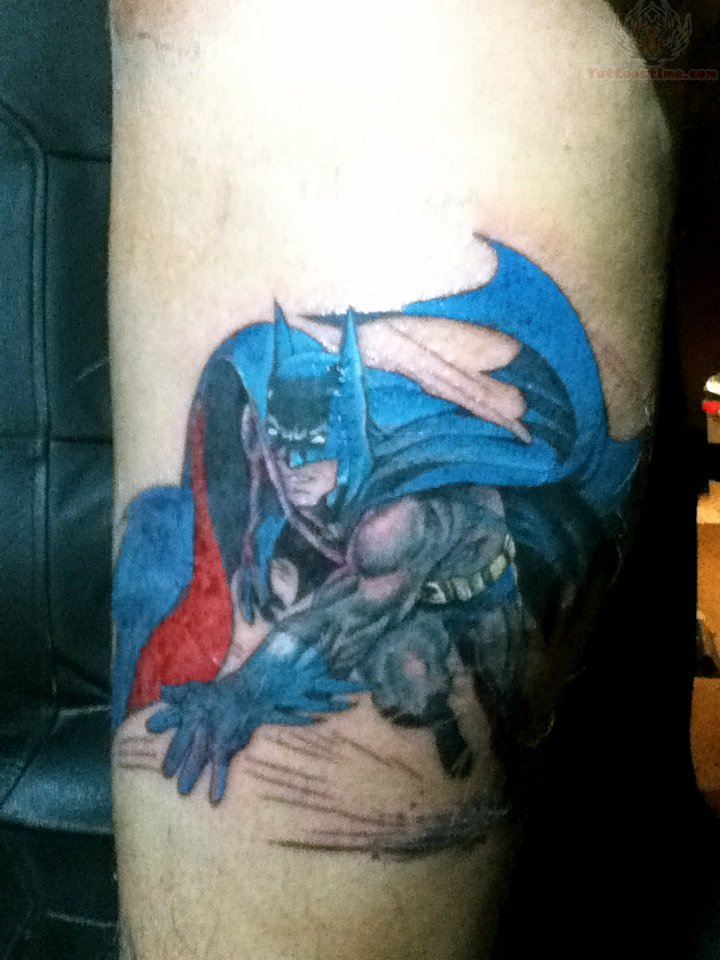 Neal Adams Batman Tattoo