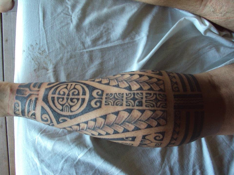 Men Tattoos On Leg