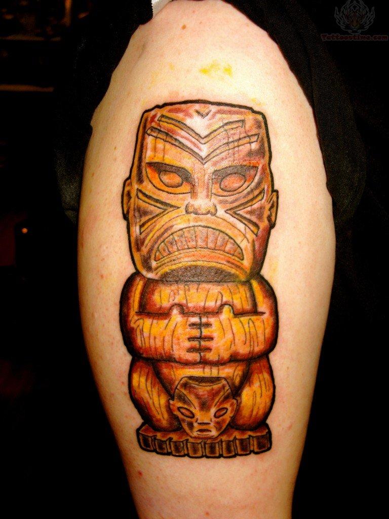 Polynesian Tiki Tattoo Designs: Tiki Tattoo Images & Designs