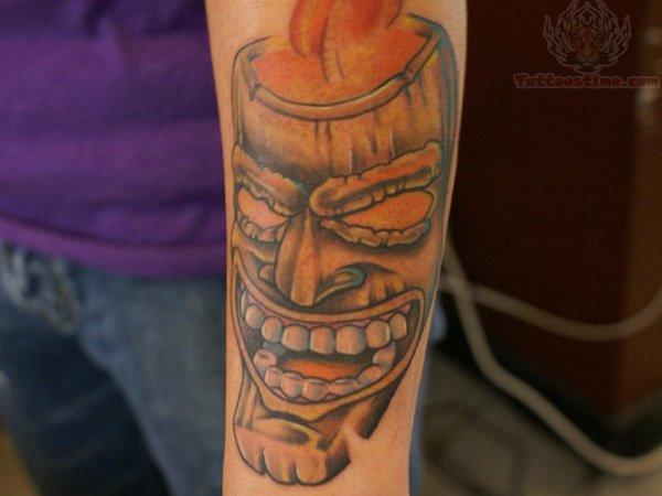 laughing man tattoo - photo #1
