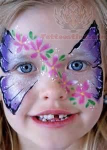 90195b31d Airbrush Butterfly Tattoo On Girl Face