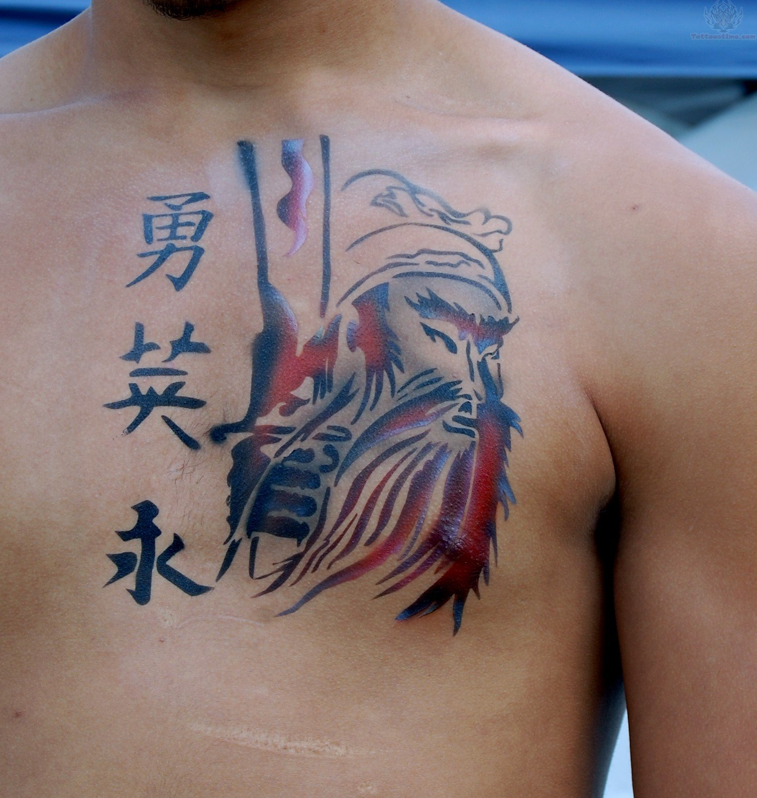 Japanese Flower Tattoo For Men