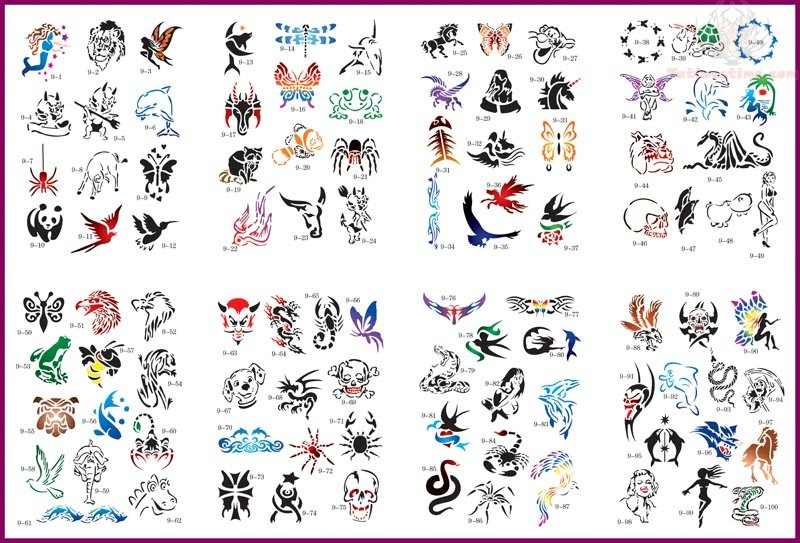 Tiny Tattoo Designs Airbrush Images amp