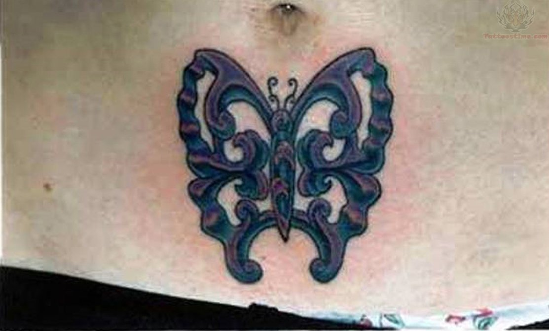 Butterflys | Butterfly tattoo, Belly button tattoos ...