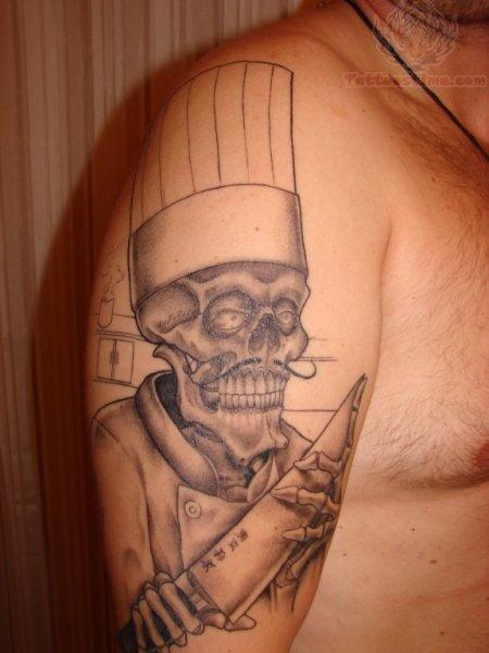 chef tattoo images designs. Black Bedroom Furniture Sets. Home Design Ideas