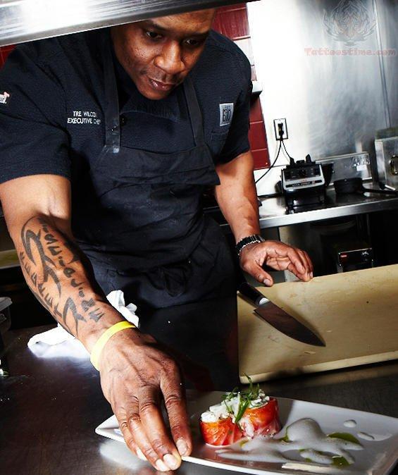 Chef Tattoo Images Amp Designs